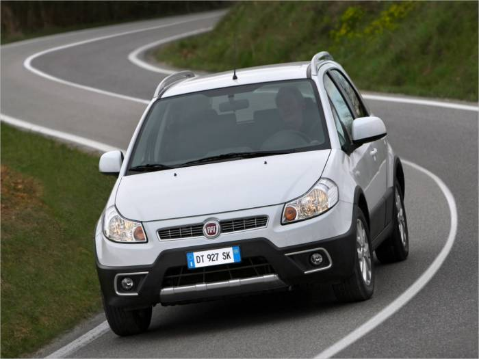 FIAT Sedici New (Галерея фото: Автомобили)