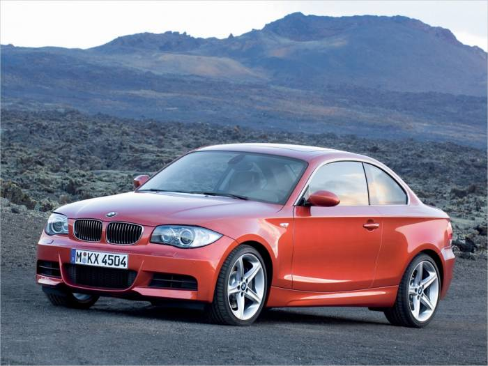 BMW 1-series Coupe (Галерея фото: Автомобили)
